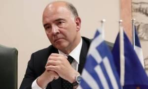 Μοσκοβισί για εκταμίευση δόσης: Είναι αναγνώριση των προσπαθειών του ελληνικού λαού