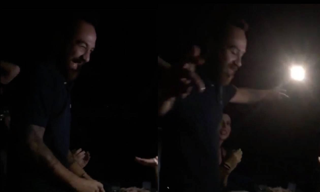 Το «βαρύ» ζεϊμπέκικο του «Μισθοφόρου» στο πάρτι του Survivor (vid)