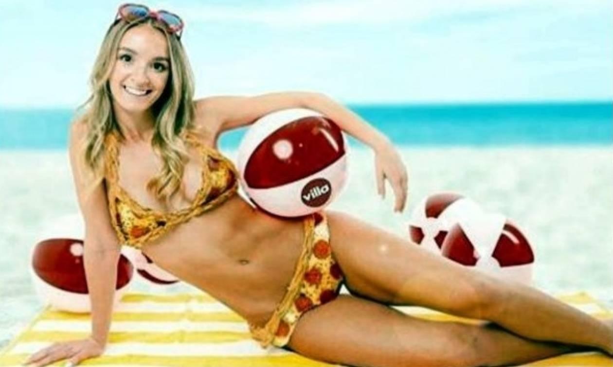 «Φεύγει» το μπικίνι και «έρχεται» το πίτσα-κινι: Για να είστε λιγουρευτή στην... παραλία!