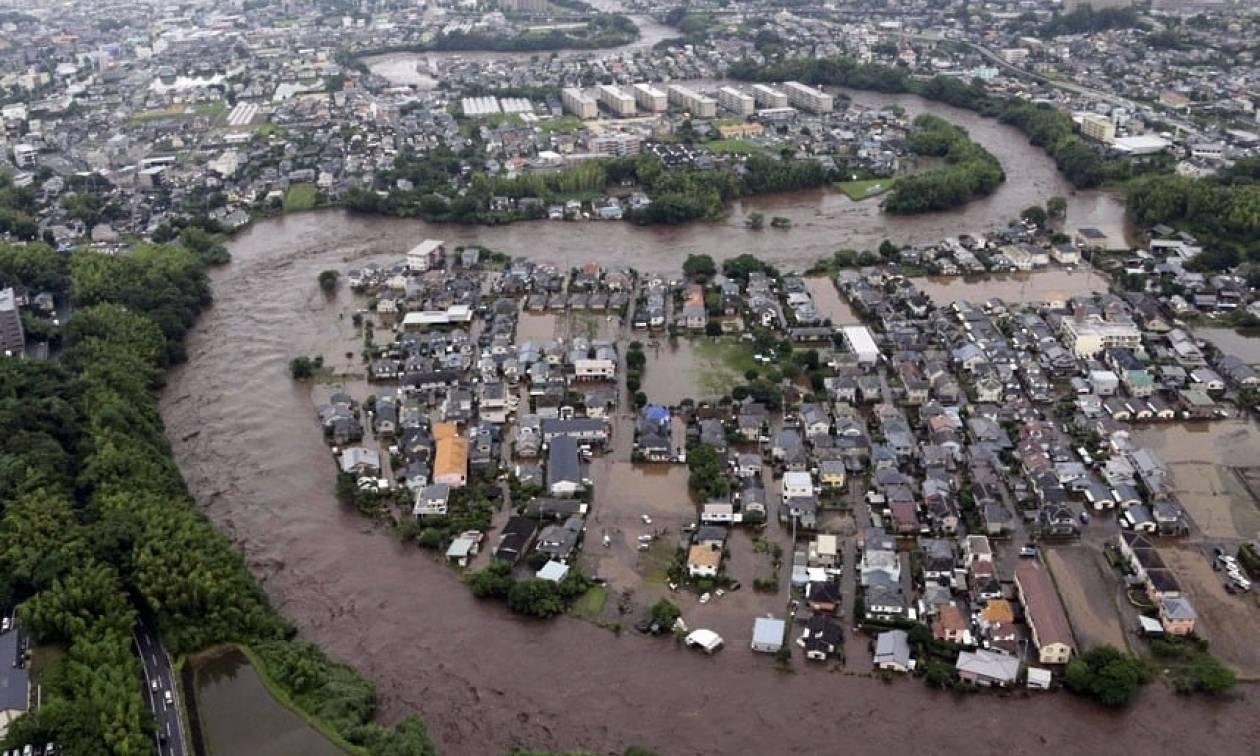 Ιαπωνία: 20 νεκροί από τις σαρωτικές πλημμύρες (vid)