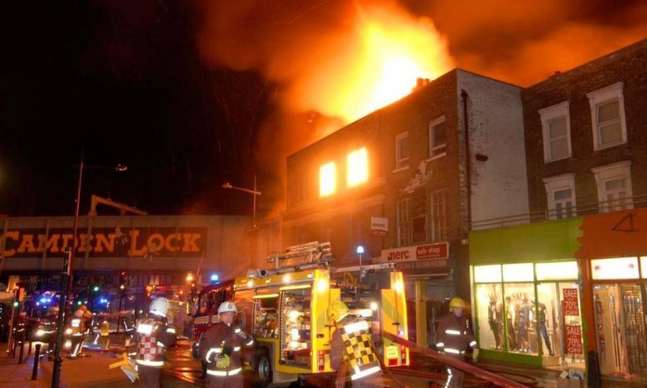 Λονδίνο: Υπό έλεγχο η φωτιά στο Camden Market
