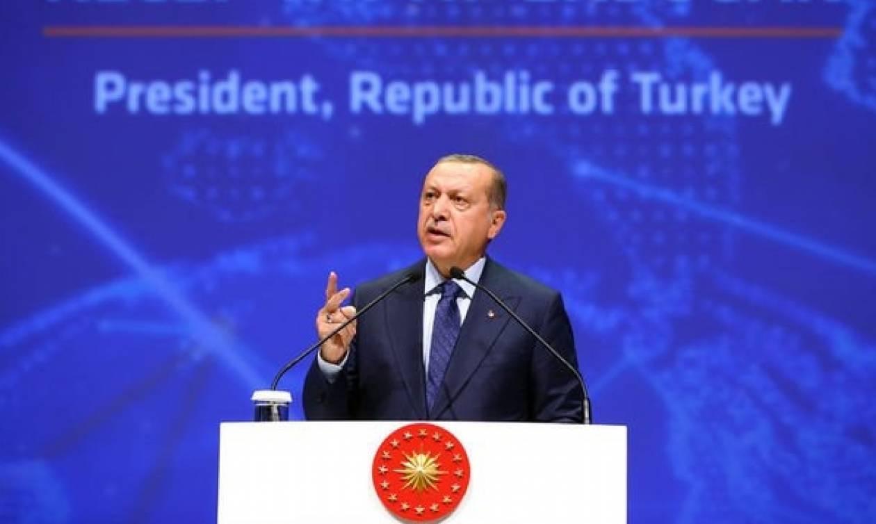 Σκηνικό έντασης στήνει ο Ερντογάν στην Κύπρο
