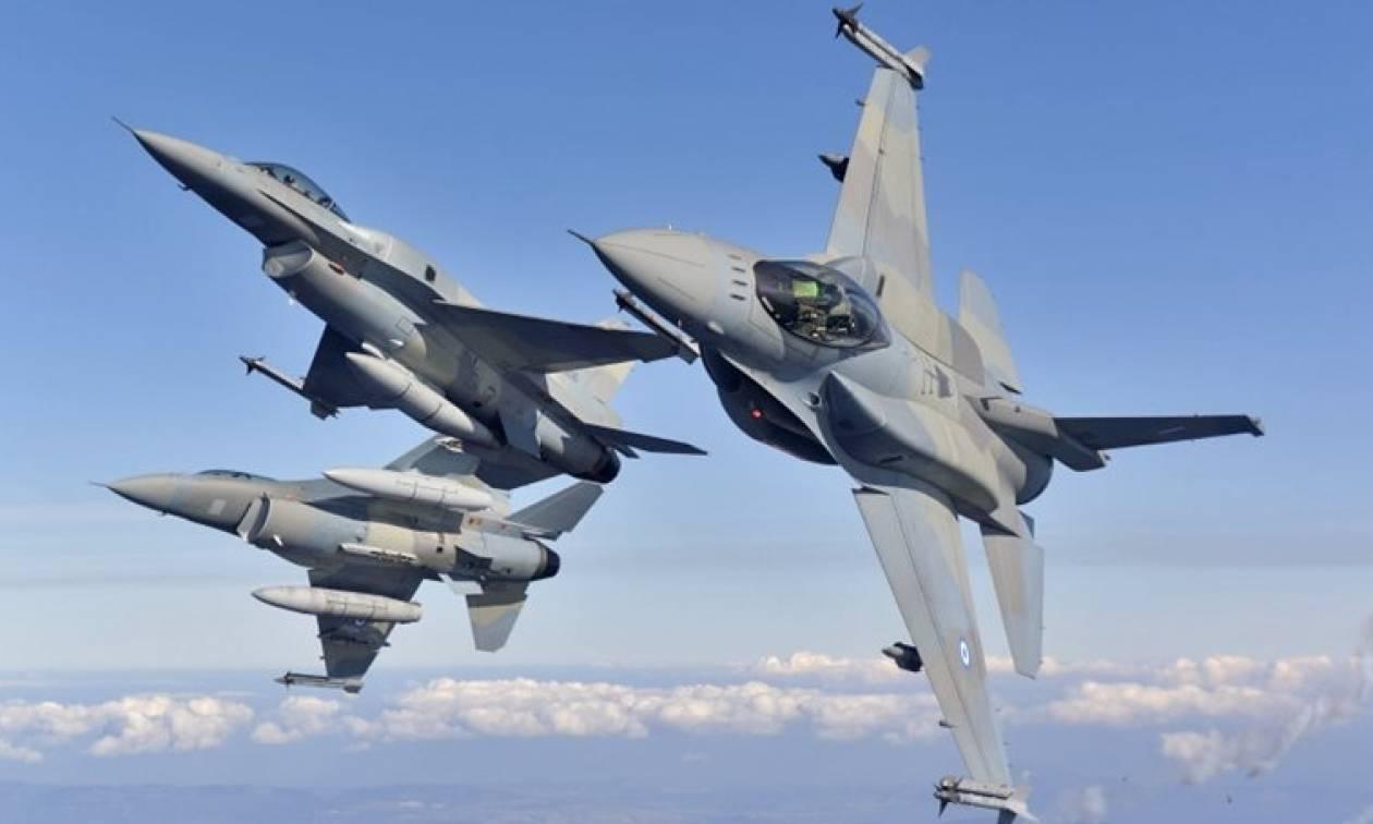 Χαμός στο Αιγαίο: Εικονικές αερομαχίες ελληνικών - τουρκικών μαχητικών