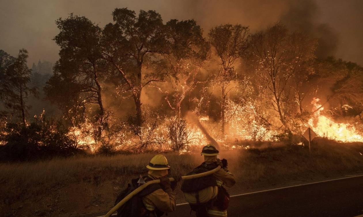 Στο έλεος πυρκαγιών Καλιφόρνια και Καναδάς (vids)