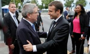 Με μπροστάρη τον Μακρόν η υποψηφιότητα του Παρισιού για τους Ολυμπιακούς Αγώνες του 2024