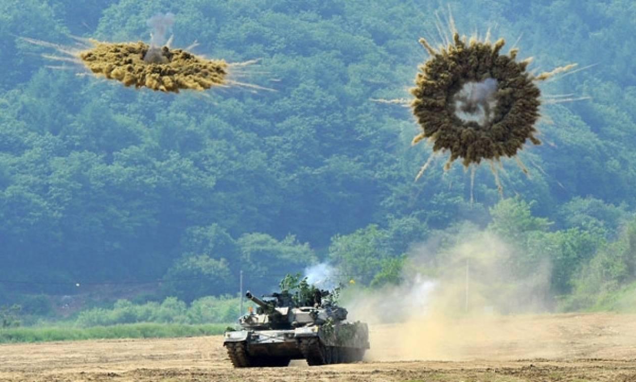Επί ποδός πολέμου ΗΠΑ και Νότια Κορέα