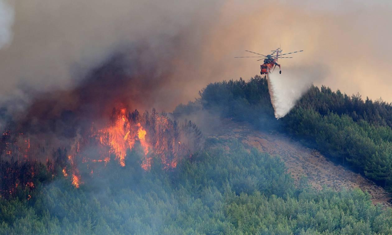 Τα πύρινα μέτωπα που συνεχίζουν να καίουν σήμερα Τετάρτη - Πού υπάρχει κίνδυνος πυρκαγιάς