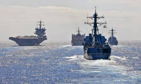 Πολεμικά πλοία γύρω από την Κύπρο: Αντίστροφη μέτρηση για τη γεώτρηση στο Οικόπεδο 11