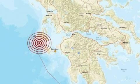 На Закинфосе произошло землетрясение