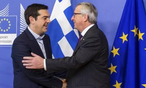 В г.Салоники состоится встреча Алексиса Ципраса и Жан-Клода Юнкера