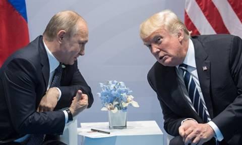 """Трамп заявил, что был """"очень жестким"""" при разговоре с Путиным"""