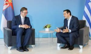 Τσίπρας σε Βούτσιτς: Ιστορικοί οι δεσμοί Ελλάδας - Σερβίας