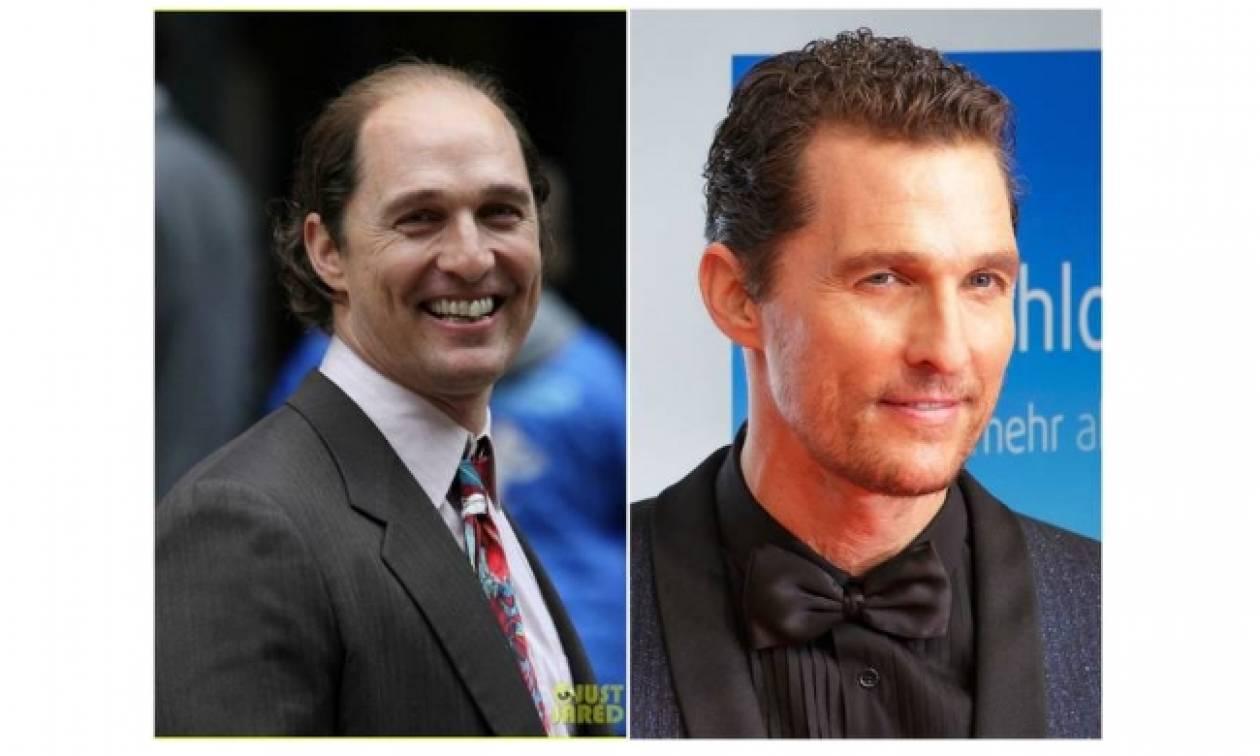 O Matthew McConaughey με ...φαλάκρα στη νέα του ταινία!