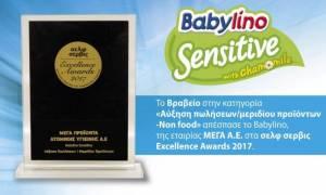 Μία ακόμη σημαντική διάκριση κατέκτησε το Babylino στα «σελφ σέρβις Excellence Awards 2017»