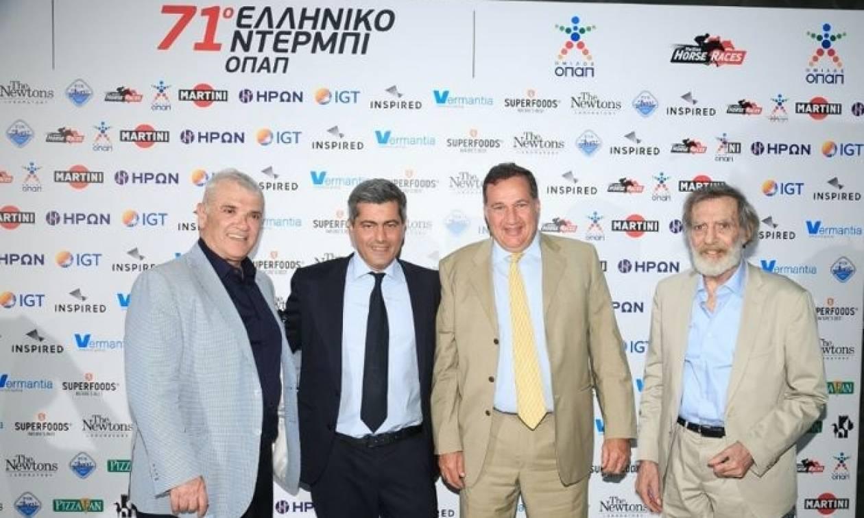 Λάμψη και συναρπαστικό θέαμα στο 71ο Ελληνικό Ντέρμπι ΟΠΑΠ