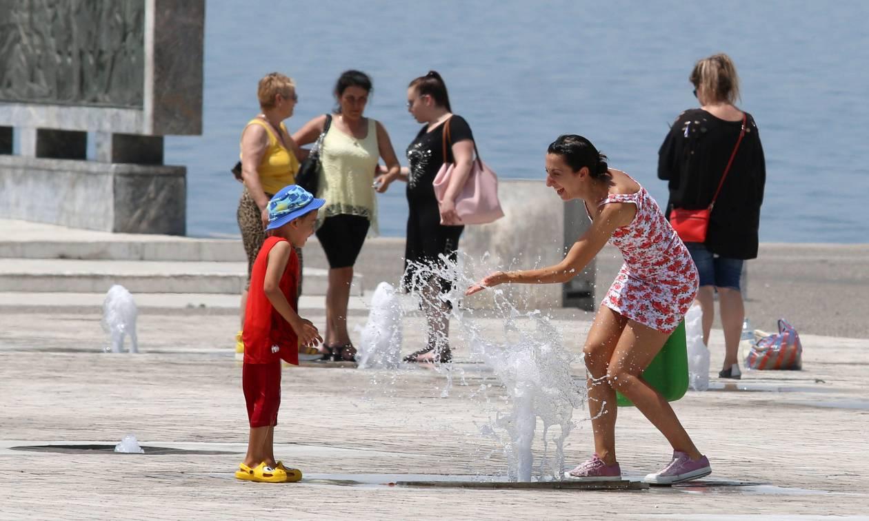 Καιρός - καύσωνας: Σε αυτές τις πόλεις της Ελλάδας το θερμόμετρο έδειξε 40 βαθμούς
