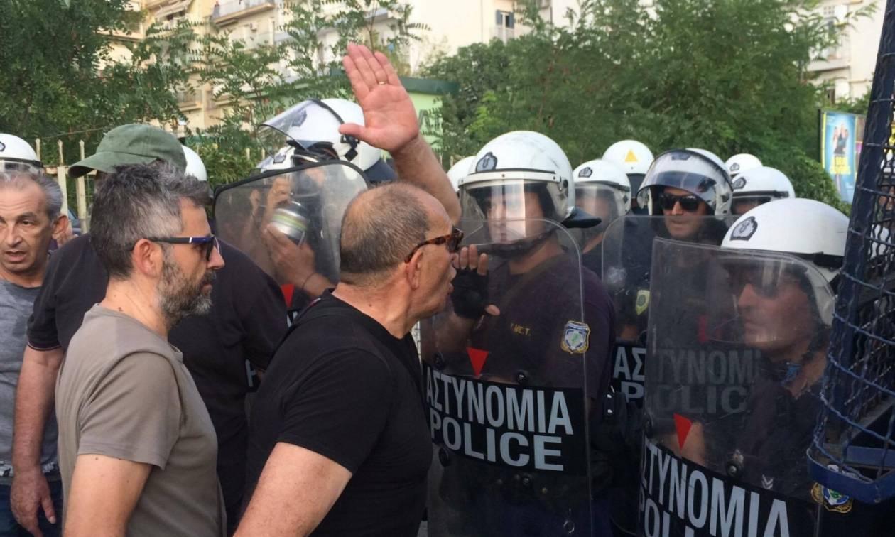 Χάος στη Θεσσαλονίκη: Επεισόδια πριν από τη συνάντηση Τσίπρα - Γιούνκερ