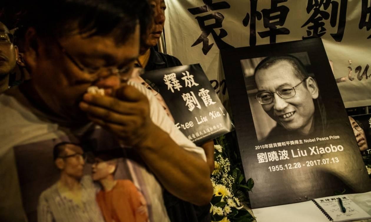 Πέθανε ο νομπελίστας της Ειρήνης Λιου Σιαομπό
