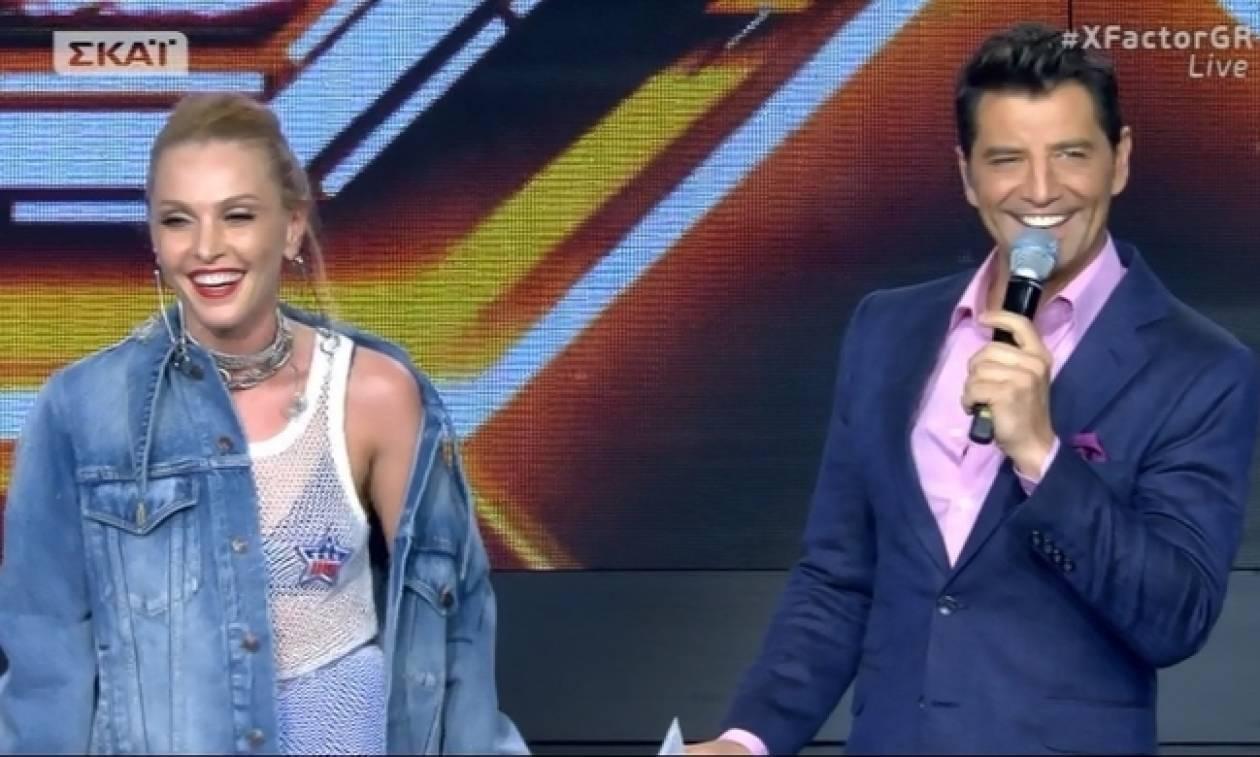 X-factor: Η καθηλωτική ερμηνεία της Τάμτα και τα σχόλια του Σάκη (Vid)