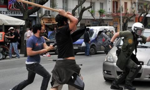 По случаю визита Жан-Клода Юнкера в Салониках прошли массовые протесты