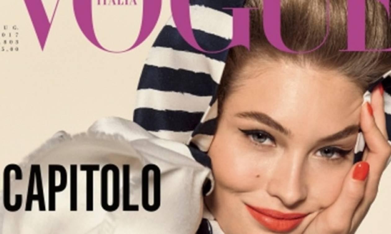 «Αέρας» ανανέωσης στην ιταλική Vogue