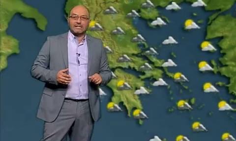 Η έκτακτη προειδοποίηση του Σάκη Αρναούτογλου για τη ραγδαία επιδείνωση του καιρού (photo)