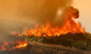 Στις φλόγες η Ζάκυνθος: Τρεις πυρκαγιές σε εξέλιξη