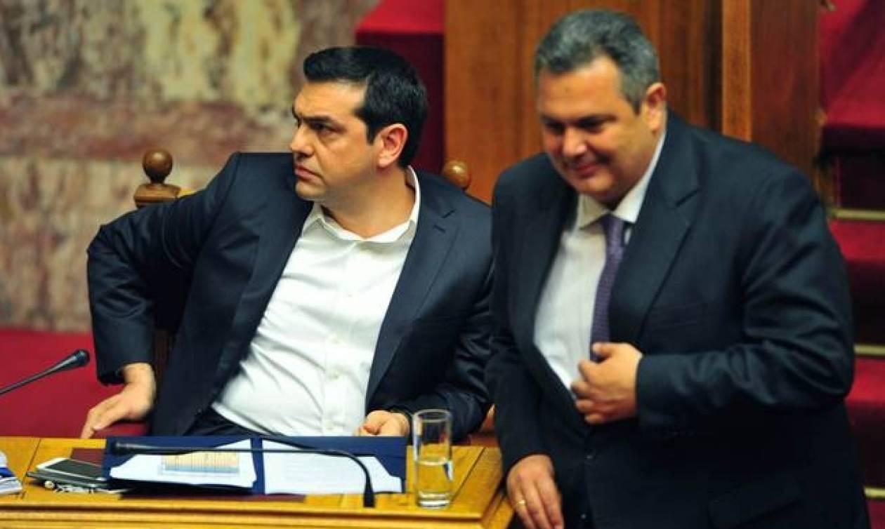 ΣΥΡΙΖΑ – ΑΝ.ΕΛ. : Μόνον το 13% εμπιστεύεται την κυβέρνηση!