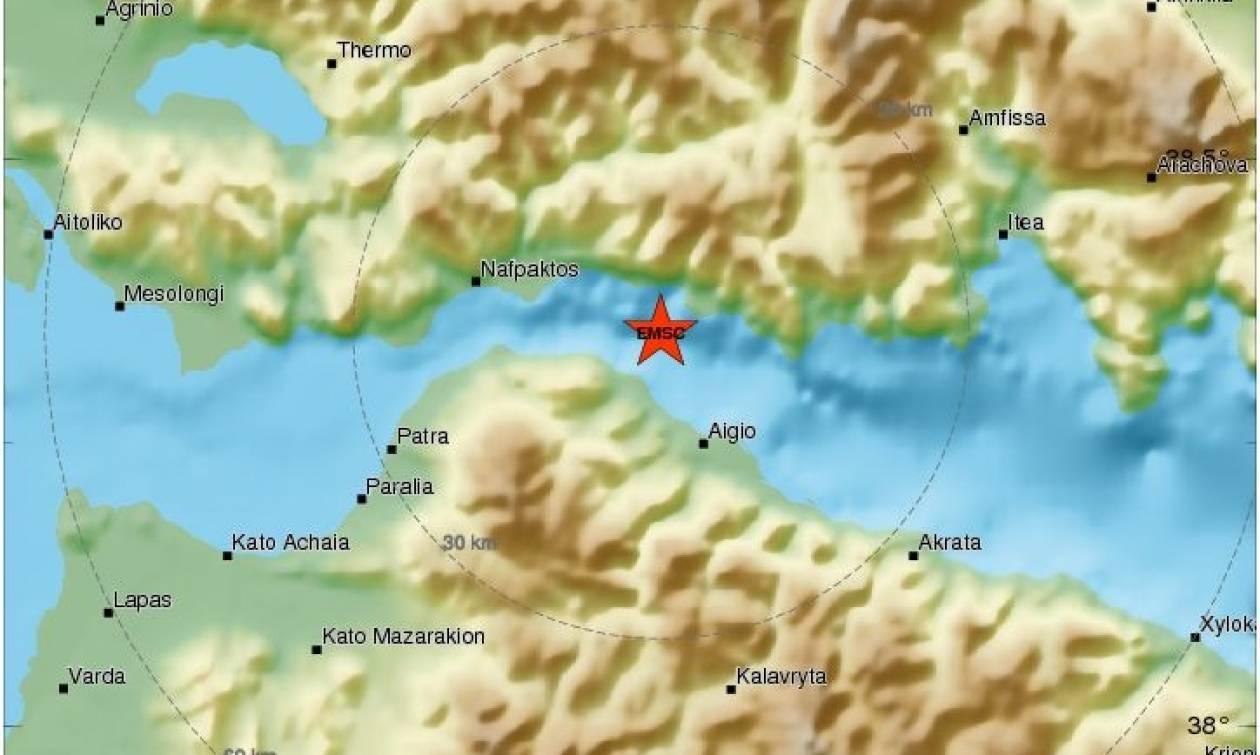 Σεισμός: «Ταρακουνήθηκε»... συνεχόμενα το Αίγιο