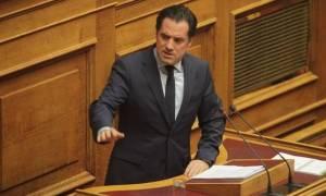 Γεωργιάδης: Δεν θα διευκολύνουμε την κυβέρνηση στο Σκοπιανό