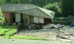 ΗΠΑ: Τεράστια τρύπα «κατάπιε» σπίτια στη Φλόριντα (pics)