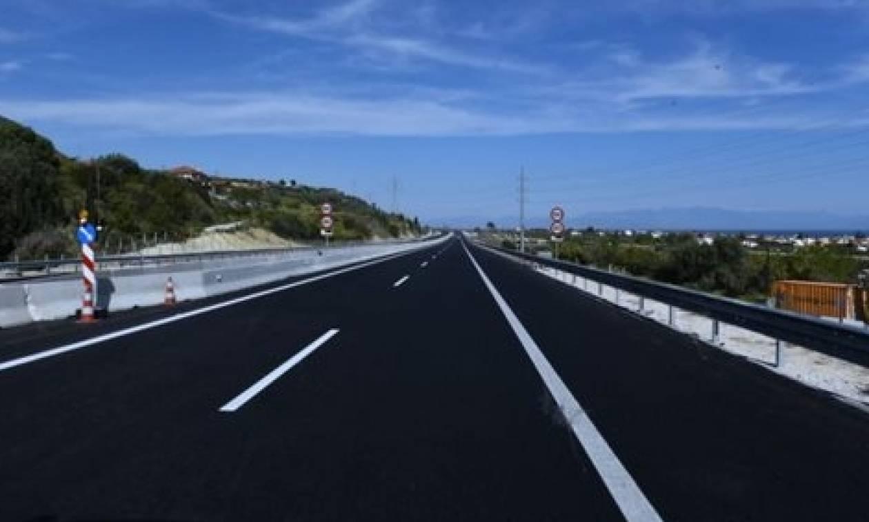 Κυκλοφοριακές ρυθμίσεις στην Εθνική Οδό Κορίνθου - Πατρών
