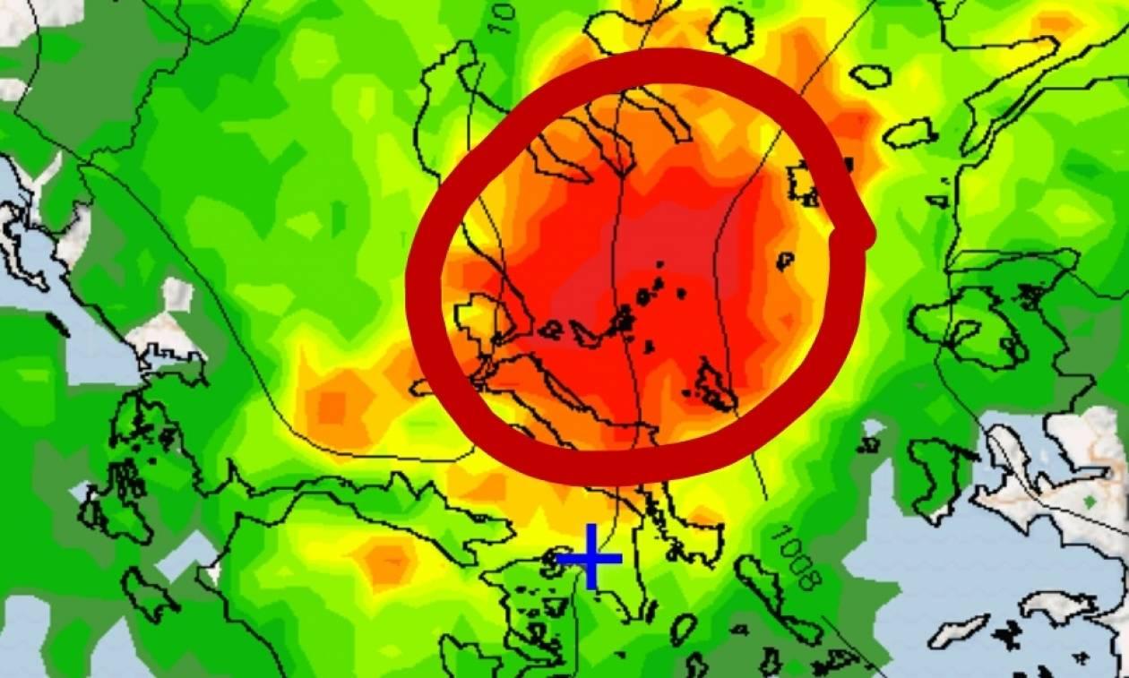 Καιρός: Η «Μέδουσα» απειλεί την Ελλάδα – Κεραυνοί και θερμοκρασίες φθινοπώρου (pics)