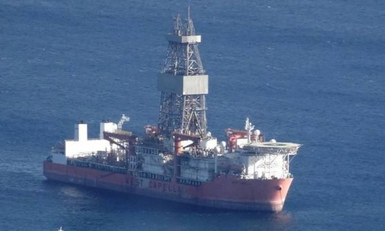 Κυπριακή ΑΟΖ: Ξεκίνησαν οι γεωτρήσεις στο Οικόπεδο 11 – Στη Λευκωσία η Γαλλίδα υπουργός Άμυνας