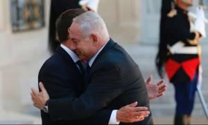 Γαλλία: Μετά τον Τραμπ υποδέχθηκε τον Νετανιάχου στο Παρίσι ο Μακρόν (Vid)