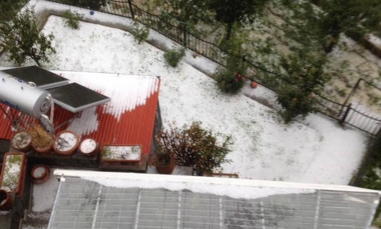 Καιρός - «Μέδουσα»: Επικίνδυνα φαινόμενα σάρωσαν τη χώρα – Εικόνες που δεν έχετε δει ΠΟΤΕ καλοκαίρι