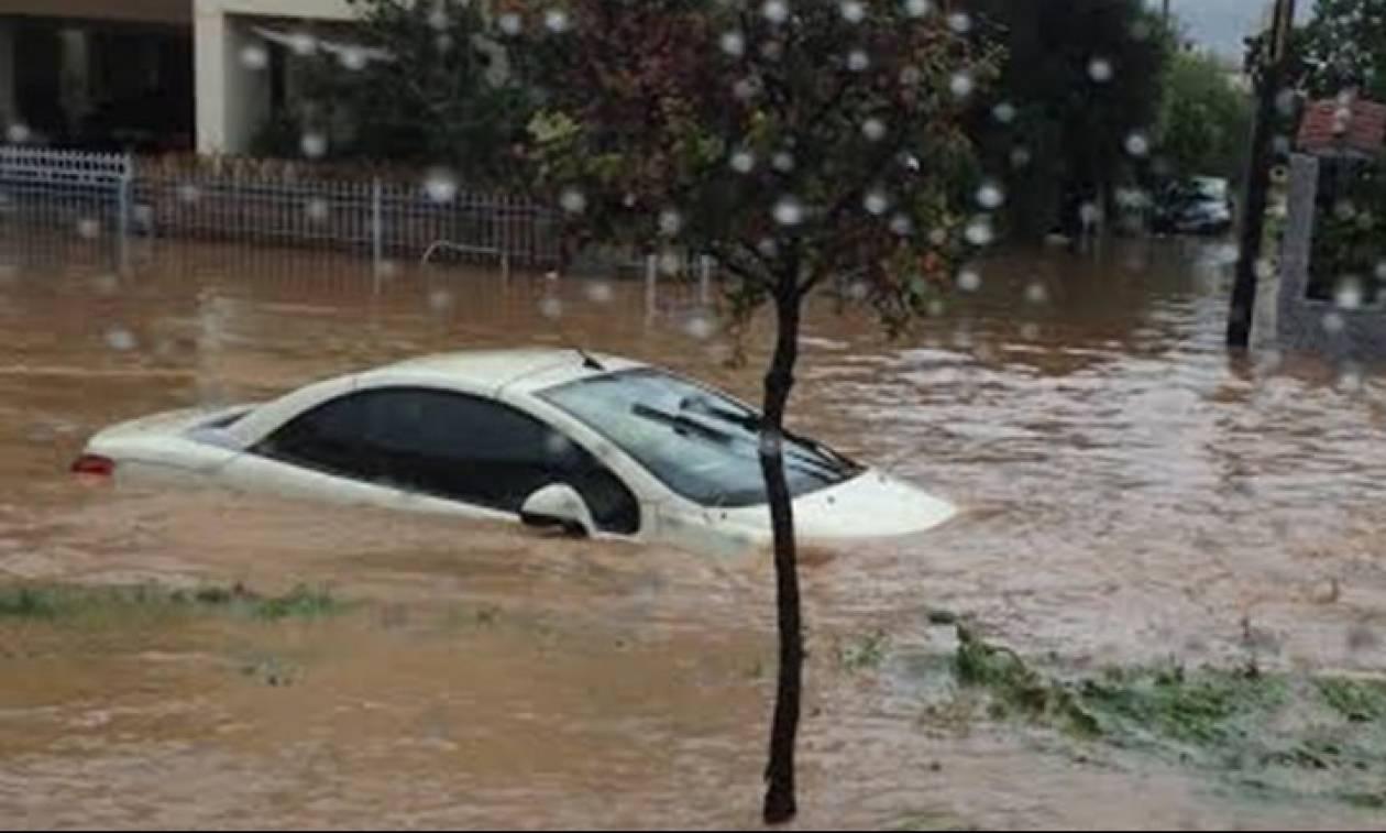 Καιρός: Πλημμύρες και πτώσεις βράχων στην περιοχή της Χαλκιδικής