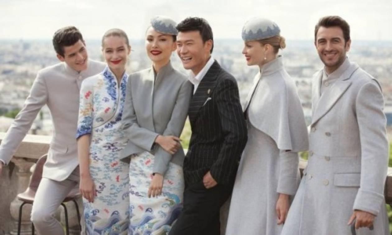 Στυλ και φινέτσα ακόμη και στους αιθέρες από την... κινεζική Hainan Airlines! (pics)