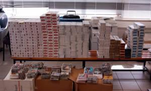 Θεσσαλονίκη: Κατασχέθηκαν πάνω από 9 εκατ. πακέτα λαθραία τσιγάρα