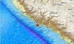 Ισχυρός σεισμός 6,4 Ρίχτερ χτύπησε το Περού