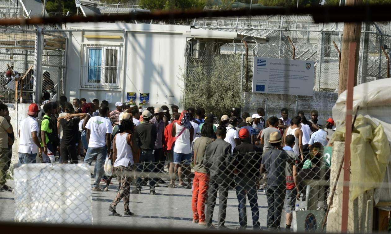 Σκηνικό χάους και πάλι στη Μόρια: Βίαια επεισόδια και καταστροφές