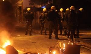 Σοβαρά επεισόδια στο κέντρο της Θεσσαλονίκης (vid)