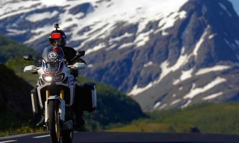 Ποιος Έλληνας ηθοποιός ταξίδεψε με μηχανή 3.570 χιλιόμετρα από το Όσλο στο βόρειο Ακρωτήρι