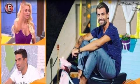 Έξαλλος ο Χανταμπάκης με την Καινούργιου – Τι απάντησε η παρουσιάστρια on air!