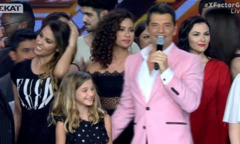 X Factor: Στη σκηνή του τελικού η κόρη του Σάκη, Αναστασία! (Vid)