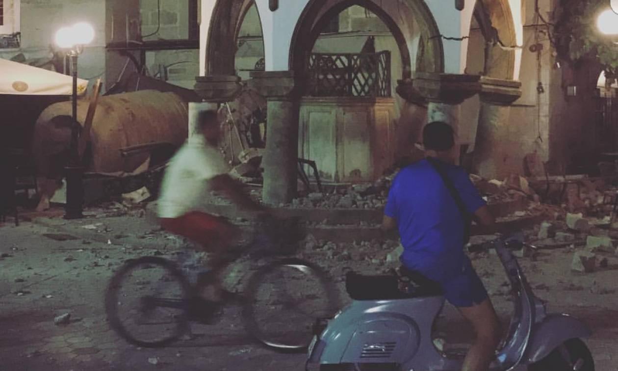Ισχυρός σεισμός 6,7 Ρίχτερ συγκλόνισε τα Δωδεκάνησα - Τουλάχιστον δύο νεκροί (Vids+Pics)