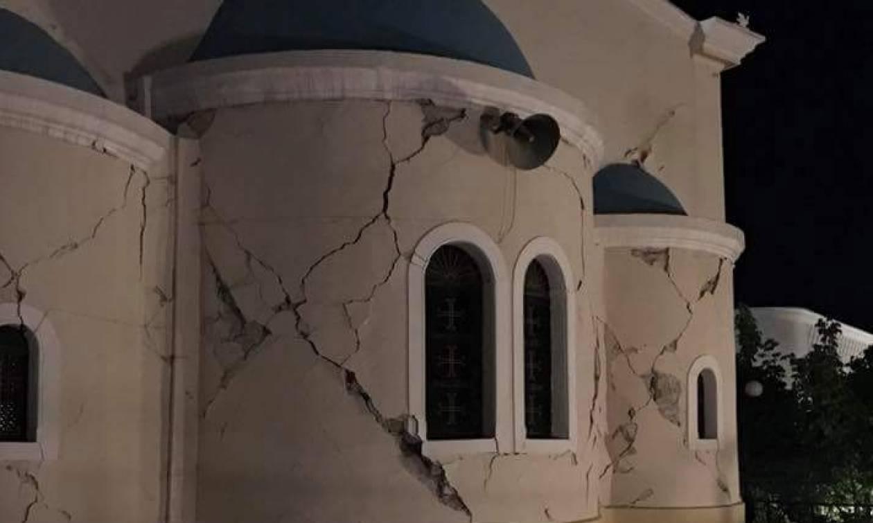 Σεισμός Κως: Τρόμος και δεκάδες κατεστραμμένα κτήρια (pics)