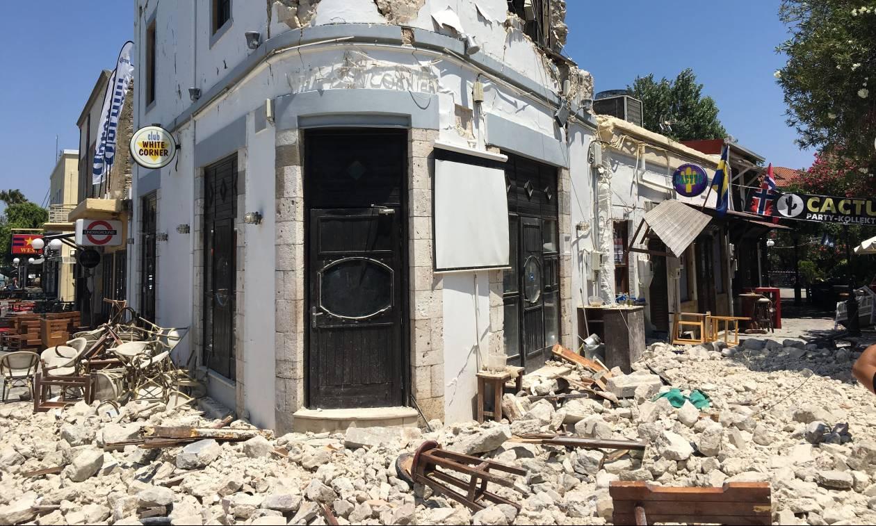 Το Newsbomb.gr στην Κω: Εικόνες «Αποκάλυψης» μετά το φονικό σεισμό των 6,7 Ρίχτερ