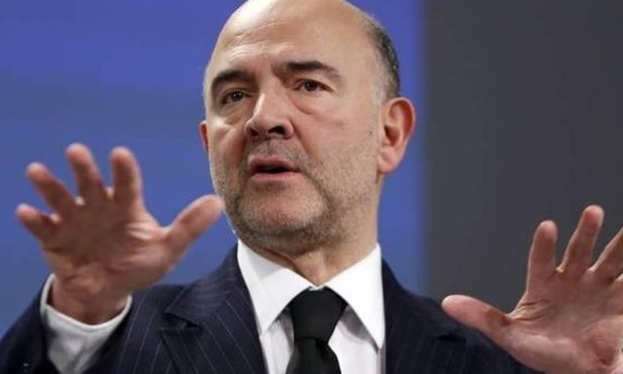 Μοσκοβισί: Πολύ καλό νέο η απόφαση του ΔΝΤ για την Ελλάδα – Έρχεται την Τρίτη στην Αθήνα
