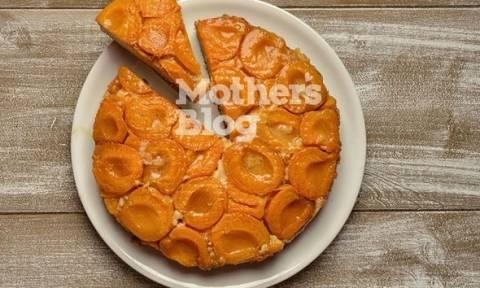 Ανάποδο κέικ με καραμελωμένα βερίκοκα από τον Γιώργο Γεράρδο